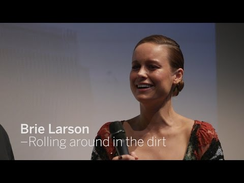 BRIE LARSON Rolling Around In The Dirt | TIFF 2016
