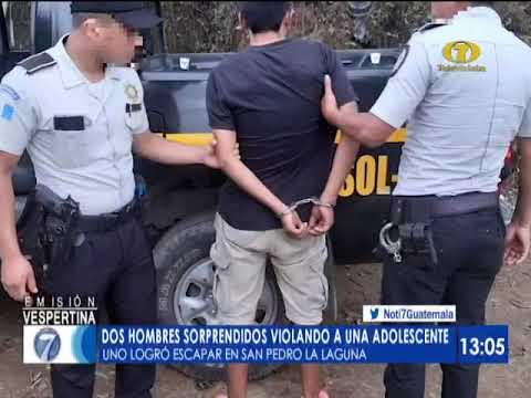 Hombres violaron a una menor de edad y ataron a su novio en San Pedro La Laguna