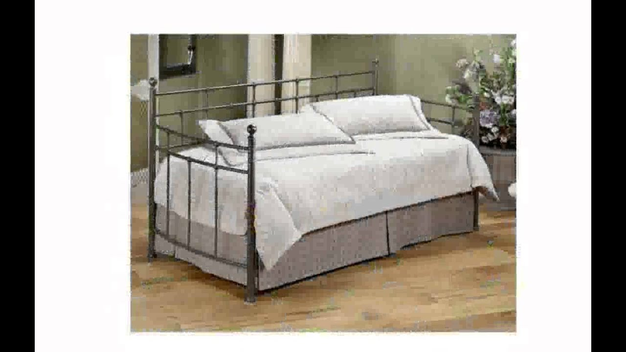 Daybed Pop Up Trundle Bed   YouTube
