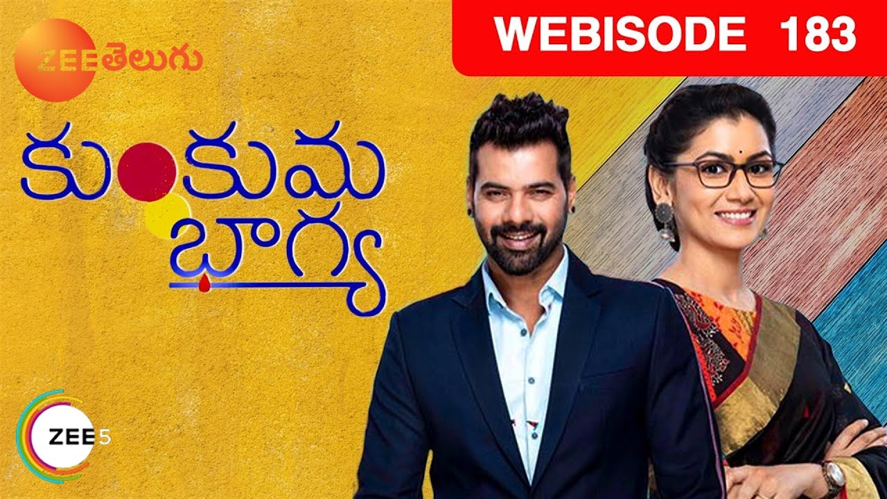 Download Kumkuma Bhagya | Telugu TV Serial | Webisode - EP 183 | Shabbir Ahluwalia, Sriti Jha | Zee Telugu