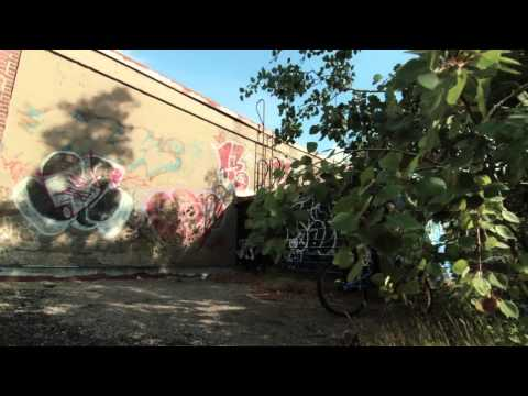 Montreal abandoned building trial biking