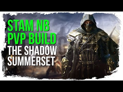 ESO Stamina Nightblade PvP Build - The Shadow - Summerset Patch