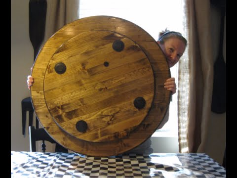 How To Make A Large Wood Lazy Susan Youtube