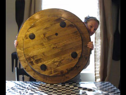 Wonderful How To Make A Large Wood Lazy Susan