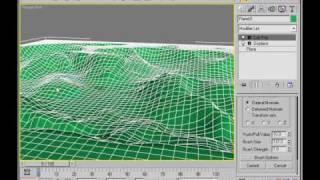 Terrain modeling in 3DS Max