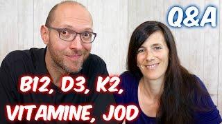 VEGAN Q&A: B12, D3, K2, Vitamine, Jod, Tofu, Selen, Schilddrüse (8 von 8)