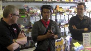 Hobby Shop Customers React to Upper Deck