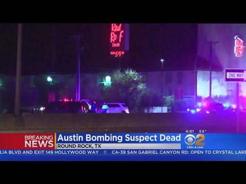 Austin Bombing Suspect Kills Self In Explosion, Police Say