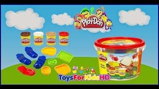 Play Doh Picnic Bucket Cubito de Picnic - Play Doh Games - Play doh Videos de  plastilina play doh