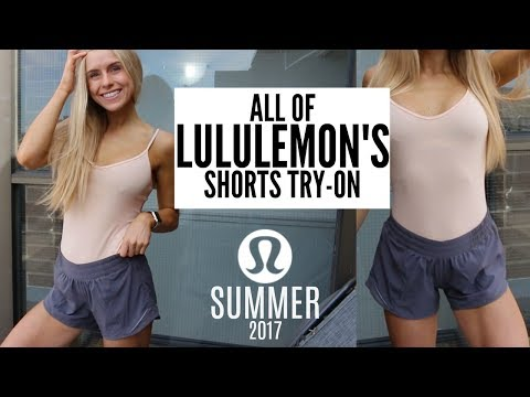 All of Lululemon Shorts Try-On & Review Summer 2017