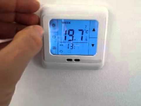 austausch eines bimetall thermostat zur einzelraumsteuerung einer fu bodenheizung durch ein sm. Black Bedroom Furniture Sets. Home Design Ideas