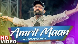 Amrit Maan | Live Performance at Chandigarh | Latest Punjabi Songs 2019 | Speed Records