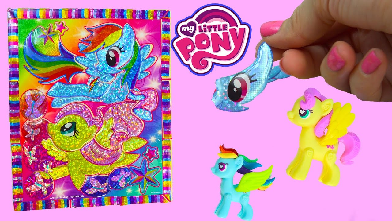 My Little Pony Rainbow Dash Sticker By Number Crystal