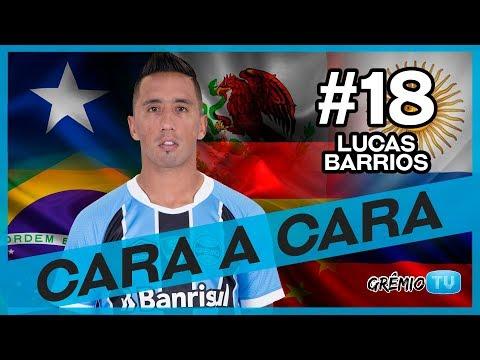 Cara a Cara com Lucas Barrios l GrêmioTV