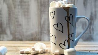 Как сделать горячий шоколад с маршмеллоу