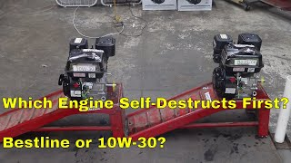 Which Engine Self-Destructs First?  Bestline vs 10W-30
