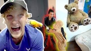 REAL LIFE TEDDY BEAR SCARE PRANK!