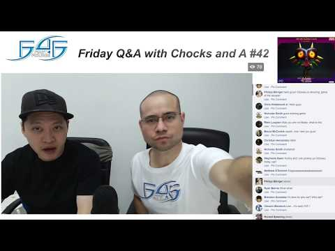 F4F Q&A with Chocks & A #42 - 27th October 2017