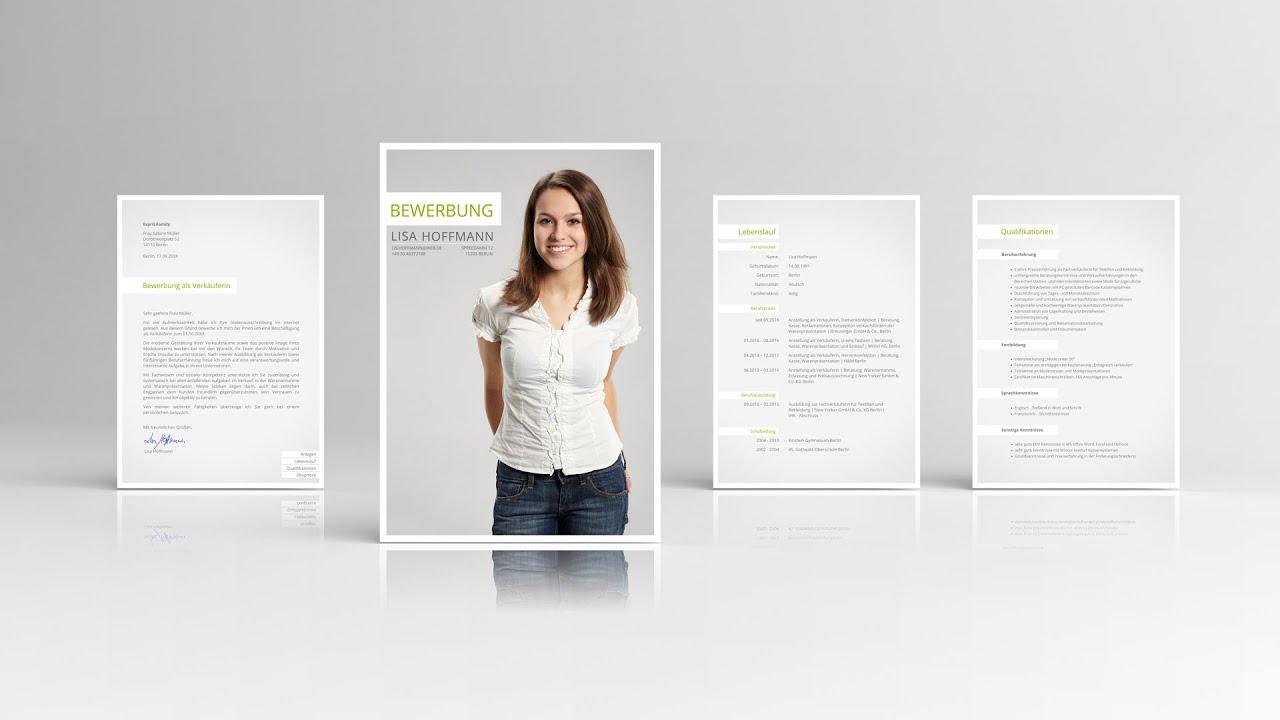 Bewerbung Vorlage vom Designer für Word & freie Office-Software ...