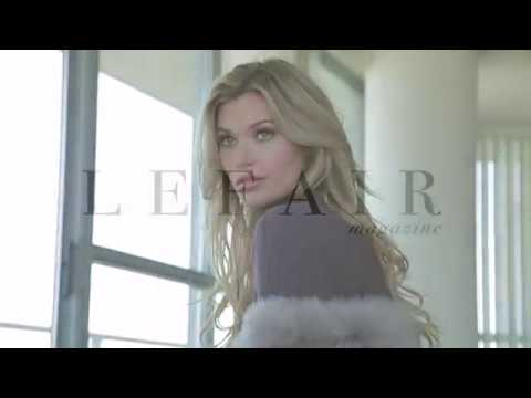 Behind the Scenes Fashion shoot of Samantha Hoopes for LEFAIR Magazine