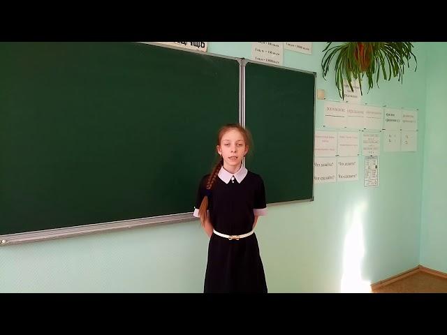 Изображение предпросмотра прочтения – КсенияБрызгунова читает произведение «Зарево белое,жёлтое,красное...» А.А.Блока