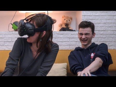 Моя Мама Пробует VR