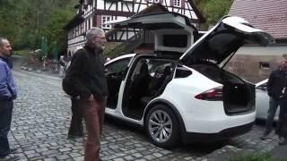 "DriveTesla 2.0: Model X ""Pegasus"" an der Mäulesmühle"