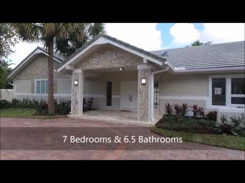 $1,790,000 - 18168 DAYBREAK DR BOCA RATON - Newly updated 7/6.5 lakefront estate with tennis count