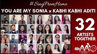 You are my Soniya x Kabhi Kabhi Aditi   Sonu Nigam   AR Rahman   32 Artists   Acoustic Affairs