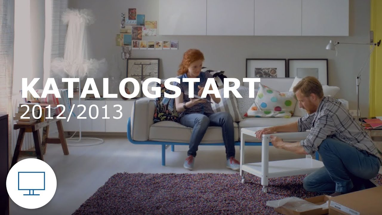 ikea werbung tv spot katalogstart 2012 2013 youtube. Black Bedroom Furniture Sets. Home Design Ideas