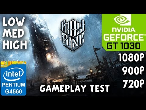 FROSTPUNK PC Gameplay Test - NVIDIA GT 1030 - Intel G4560 - 8GB RAM |