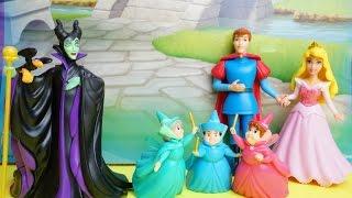 princesa bela adormecida disney coleo histrias com malvola fadinhas e principe philip brinquedos