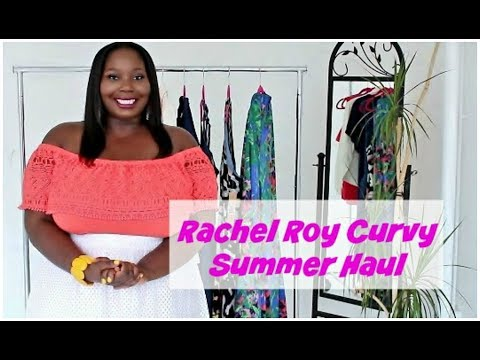 Plus Size Fashion: Rachel Roy Curvy Summer Collection Try On Haul