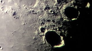 Raw Moon Footage - Extreme Close-up Video (2017)