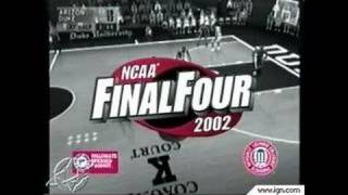 NCAA Final Four 2002 PlayStation 2 Gameplay