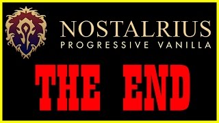 Nostalrius is Closing aka Cease and Desist [Vanilla / Classic World of Warcraft]