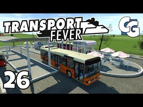Transport Fever - Ep. 26 - DMA Modern Buses Mod - Transport Fever Gameplay