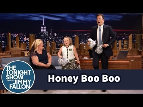 Honey Boo Boo Shows Jimmy Her Cheerleading Moves