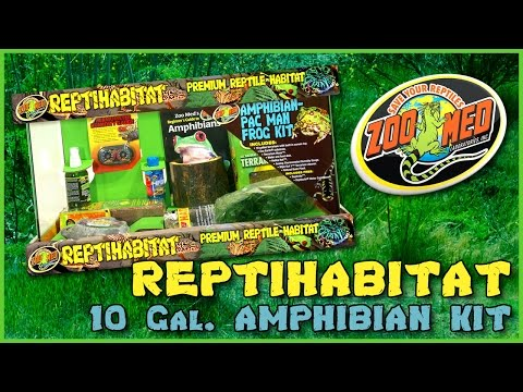 Zoo Med 10 Gallon ReptiHabitat™ Amphibian Kit