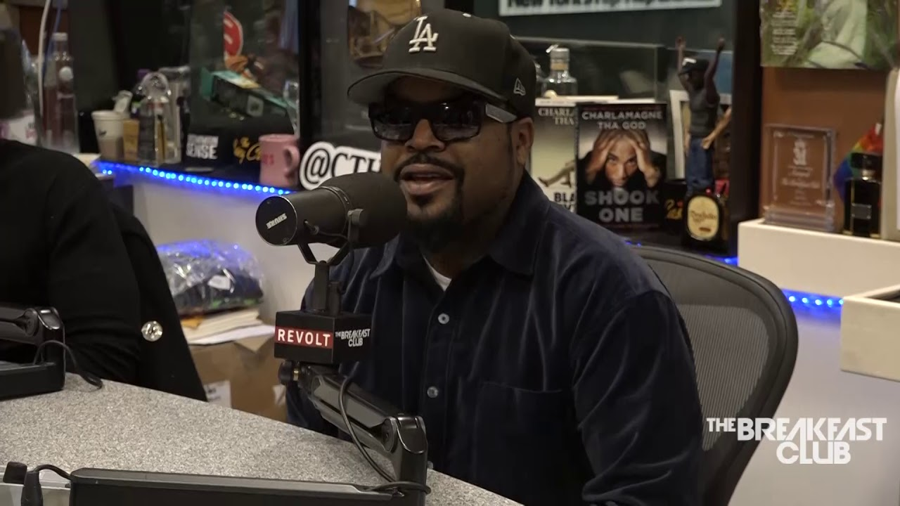 Image result for ice cube breakfast club interviews 2018