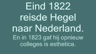 Georg Wilhelm Friedrich Hegel. levensbeschouwing.