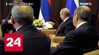 Что немцы спрятали под столом у Путина? // Москва. Кремль. Путин, материал Павла Зарубина