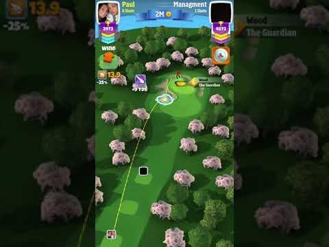 Golf Clash Slam Dunk Hole In One. BEST SHOT EVER!
