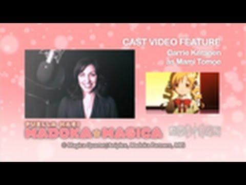 Madoka Magica English Cast Video: Mami Tomoe