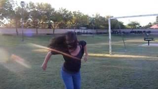 Megan Slam Dancing