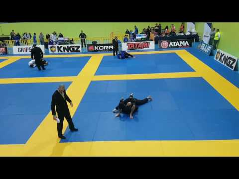 White-Belt Fighter Defends Armbar by Biting Opponent at European Championships