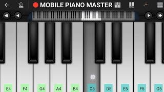Aise Na Mujhe Tum Dekho Piano Tutorial|Piano Keyboard|Piano Lessons|Piano Music|learn piano Online