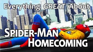 connectYoutube - Everything GREAT About Spider-Man: Homecoming!