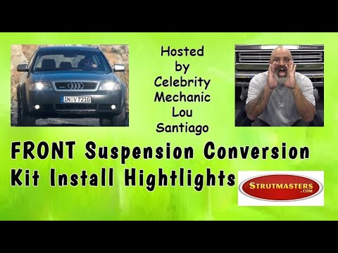 How To Convert The Front Air Suspension On An Audi C5 Allroad Quattro By Lou Santiago