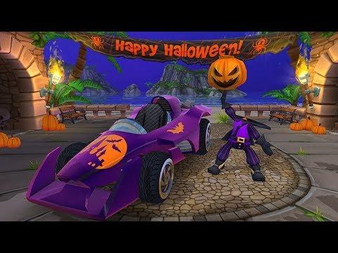 Halloween Rally - Win Mr. Happy - Beach Buggy Racing 2
